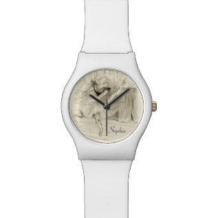 The Ballet Dancer, Toulouse-Lautrec Wristwatch at Zazzle