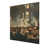 The ballet scene from Meyerbeer's opera Canvas Prints