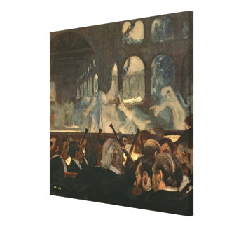 The ballet scene from Meyerbeer's opera Canvas Print