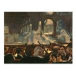 The ballet scene from Meyerbeer's opera Postcards