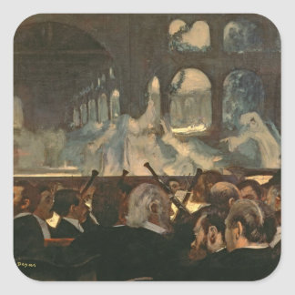 The ballet scene from Meyerbeer's opera Square Sticker