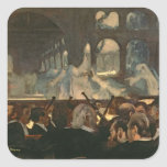 The ballet scene from Meyerbeer's opera Square Stickers
