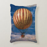 The Balloon, 1878 Accent Pillow