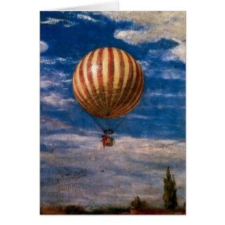 The Balloon, 1878 Card