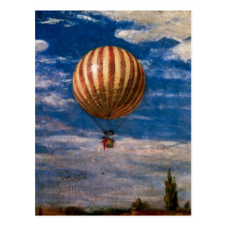 The Balloon, 1878 Postcard