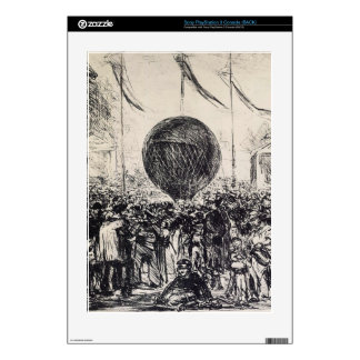 The Balloon by Edouard Manet PS3 Skin