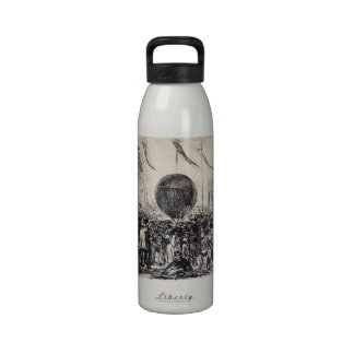 The Balloon by Edouard Manet Water Bottles
