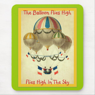 The Balloon Flies High Mouse Pad