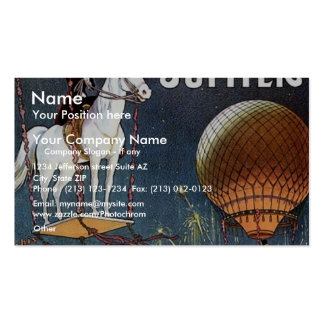 The Balloon Horse Jupiter Vintage Theater Business Cards