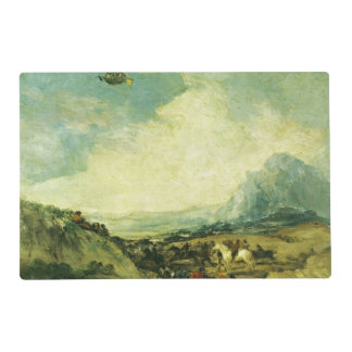 The Balloon or, The Ascent of the Montgolfier Placemat