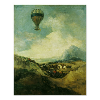 The Balloon or, The Ascent of the Montgolfier Poster