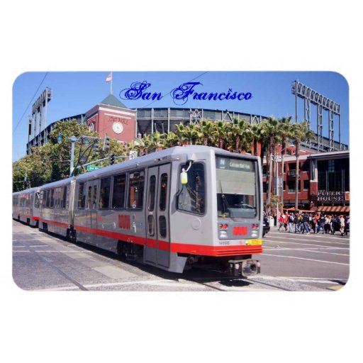The ballpark in San Francisco Magnet