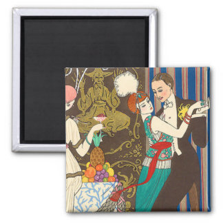 The Ballroom 2 Inch Square Magnet