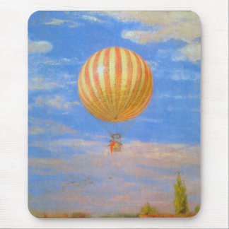 The Baloon by Pal Szinyei Merse Mouse Pad