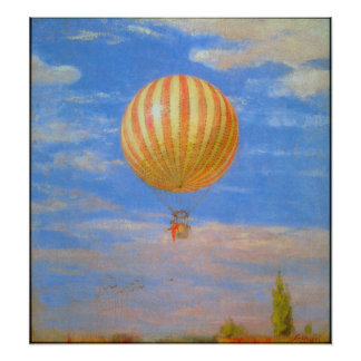 The Baloon by Pal Szinyei Merse Poster