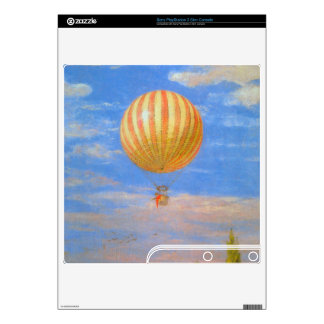 The Baloon by Pal Szinyei Merse PS3 Slim Decal
