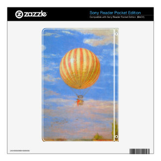 The Baloon by Pal Szinyei Merse Decal For Sony Reader