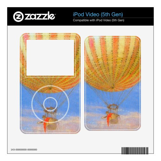 The Baloon by Pal Szinyei Merse Decal For iPod Video 5G