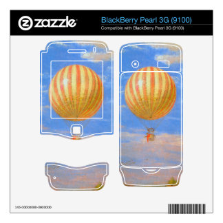 The Baloon by Pal Szinyei Merse Skin For BlackBerry Pearl