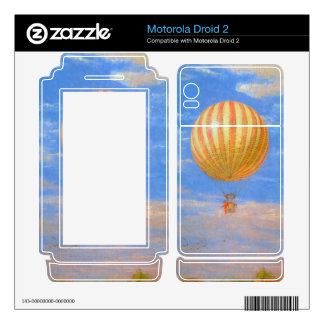 The Baloon by Pal Szinyei Merse Motorola Droid 2 Skin