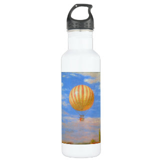 The Baloon by Pal Szinyei Merse Water Bottle