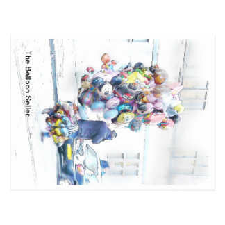 The Baloon seller Postcard