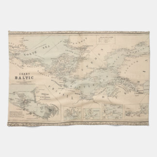 The Baltic Sea Hand Towel