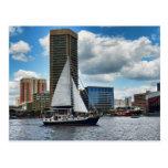 The Baltimore Inner Harbor Postcard