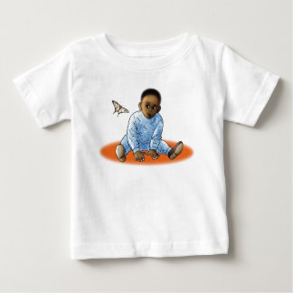 The Bambino and the Butterfly Baby T-Shirt