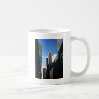 The Banco Santander and Dumont Buildings, NYC Classic White Coffee Mug