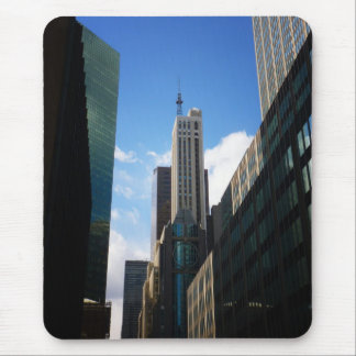 The Banco Santander and Dumont Buildings, NYC Mouse Pad