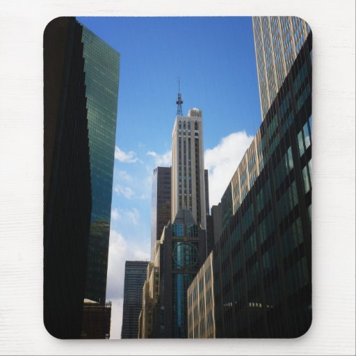 The Banco Santander and Dumont Buildings, NYC Mouse Pads