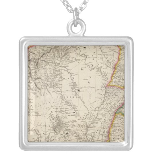 The Banda Oriental Silver Plated Necklace