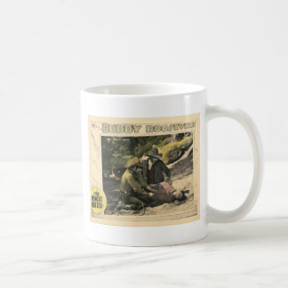 The Bandit Buster 1926 Vintage Silent Movie Poster Classic White Coffee Mug