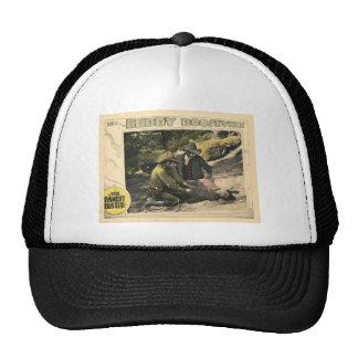 The Bandit Buster 1926 Vintage Silent Movie Poster Mesh Hats