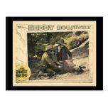 The Bandit Buster 1926 Vintage Silent Movie Poster Postcards