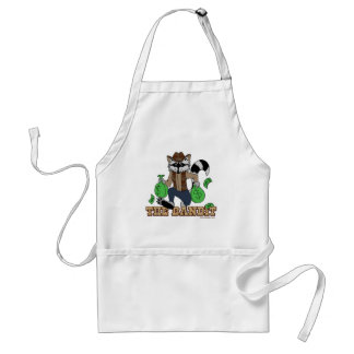 The Bandit Raccoon Adult Apron