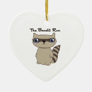 The Bandit Run Christmas Ornament