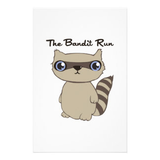 The Bandit Run Stationery Design