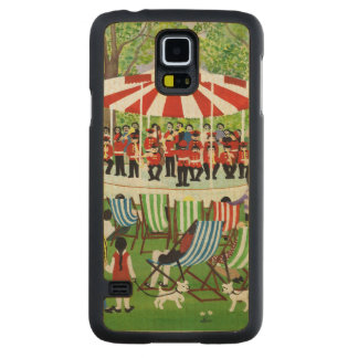 The Bandstand Carved® Maple Galaxy S5 Slim Case