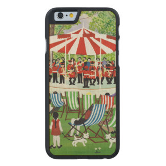 The Bandstand Carved® Maple iPhone 6 Slim Case