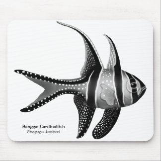 The Banggai Cardinalfish Mousepad