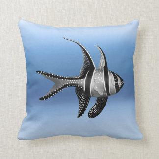 The Banggai Cardinalfish Pillow
