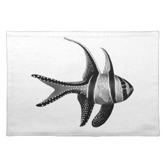 The Banggai Cardinalfish Placemat