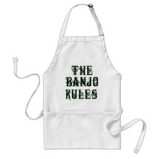 The Banjo Rules Apron