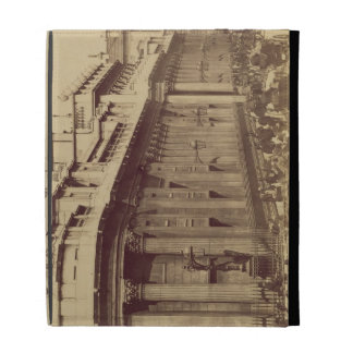 The Bank of England, London, c.1880 (sepia photo) iPad Folio Cases