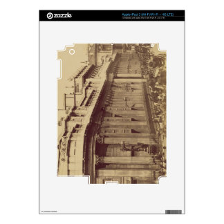 The Bank of England, London, c.1880 (sepia photo) Decal For iPad 3
