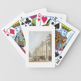 The Bank of England looking towards the Mansion Ho Bicycle Playing Cards