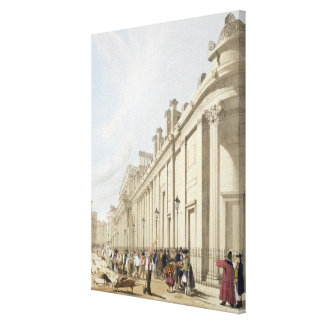 The Bank of England looking towards the Mansion Ho Canvas Prints