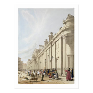The Bank of England looking towards the Mansion Ho Postcard